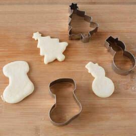Christmas Cookie Cutter Set Of 6 (medium)
