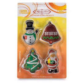 Christmas Cookie Cutter Set Of 4 (Big)