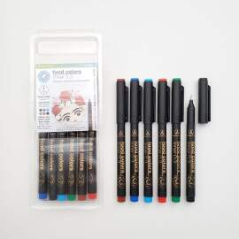 DripColor Extra Fine Tip Liners set (0.3mm)