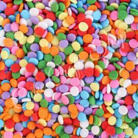 Rainbow Disc Sprinkles 100g