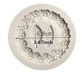 Flower Wreath Silicon Mould