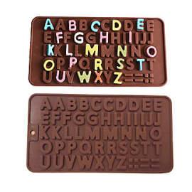 Alphabet Silicon Chocolate Mould