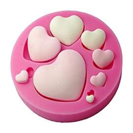 Heart Silicon Mould