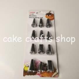 12pcs Cake Decorating Icing Nozzle set