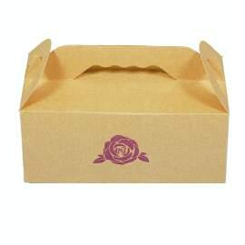 Loaf Bread Box Kraft (6pcs)