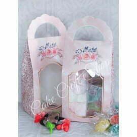Cookie/Candy Box -Pink (6pcs)