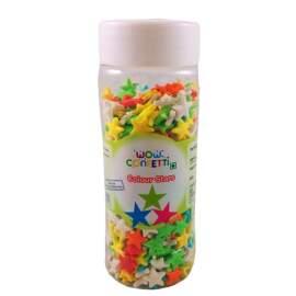 Coloured Stars Edible Decoration -100g