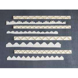 Straight Frill Cutter Set for Border & Frill (set -1)