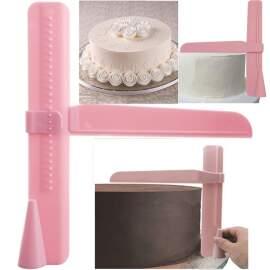 Adjustable Cake Scraper / Edge Smoother