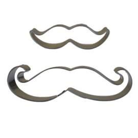 Moustache Cookie Cutter Set