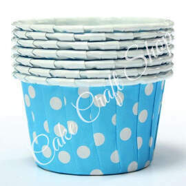 Blue Bake & Serve Muffin Cups (Standard Size) 50pcs