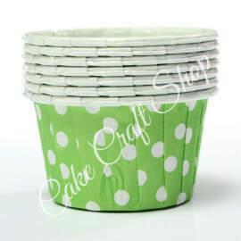 Green Bake & Serve Muffin Cups (Standard Size) 50pcs