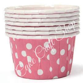 Pink Bake & Serve Muffin Cups (Standard Size) 50pcs