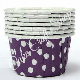 Purple Bake & Serve Muffin Cups (Standard Size) 50pcs