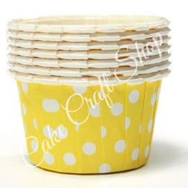 Yellow Bake & Serve Muffin Cups (Standard Size) 50pcs
