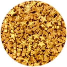 Gold Edible Star Sprinklers