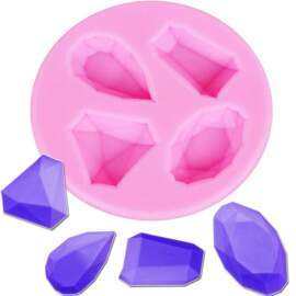 Gems Silicone Mould