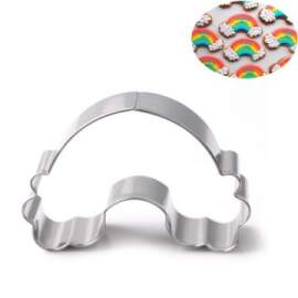 Rainbow and Clouds Cookie Cutter