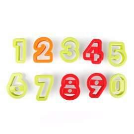 Fondant Number Cutter (Plastic)
