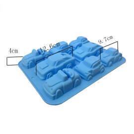 Car Shape silicone mold 8 Cavity