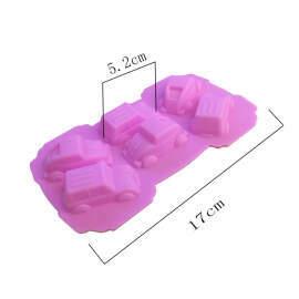 Car shape Silicone Mold (Small) 6 Cavity