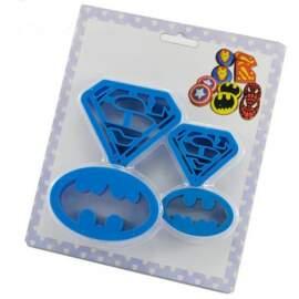 Super Hero - Superman & Batman Fondant / Cookie Cutter