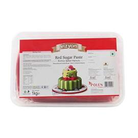 Red Sugar Paste/ Fondant, 1kg