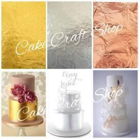 Edible Gold/Silver/Rose Gold Leaf