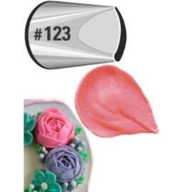 Large Petal Decorating Tip No.123